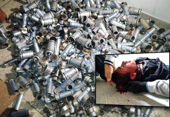El impresionante arsenal que el Esmad usó para atacar los estudiantes de la Unicauca