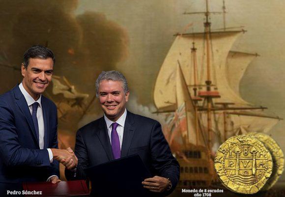 ¿Acuerdo a puerta cerrada entre los gobiernos de Duque y Pedro Sánchez sobre el Galeón San José?