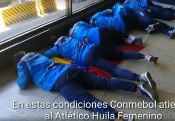 Video: La humillación que pasaron las campeonas de la Copa Libertadores en su regreso a Colombia