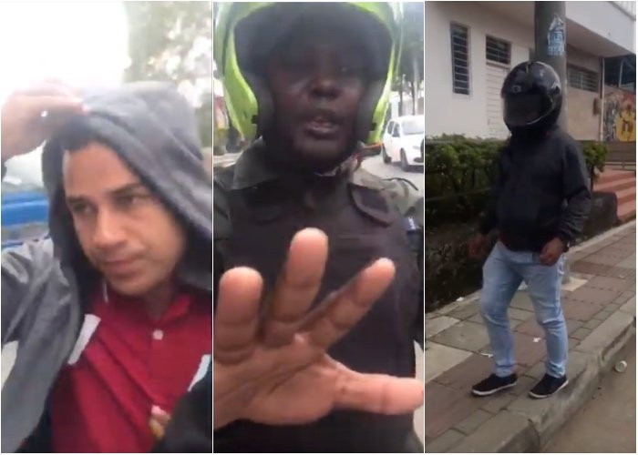 VIDEO: Policía protege a sus infiltrados en las marchas estudiantiles