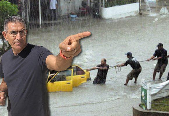 Cuando el periodista Jorge Cura estuvo cerca de morir en un arroyo de Barranquilla