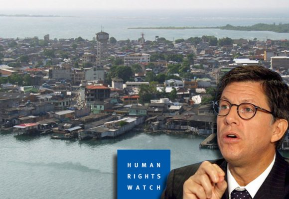 Jalón de orejas de Human Rights Watch por crisis en Tumaco