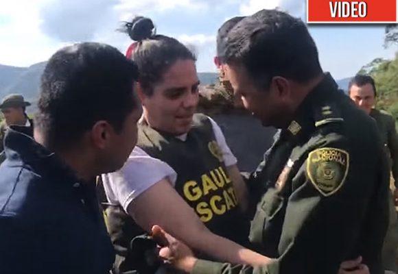 [VIDEO] Así fue la liberación de la sobrina de Gabo