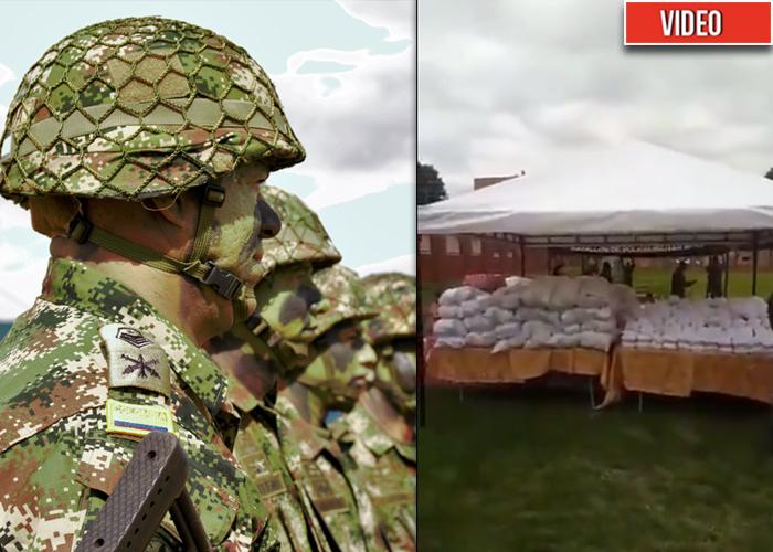 Un plato de lechona por 20 años de servicio: humillación a los soldados de Colombia