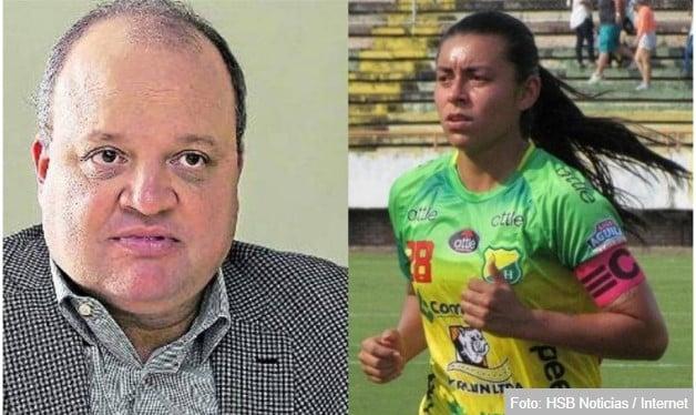 El presidente de la Dimayor manda a callar a Yoreli Rincón