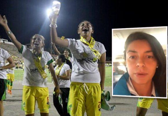 """""""Los USD 55 mil que nos ganamos van para los hombres del Atlético Huila"""" [Video]"""