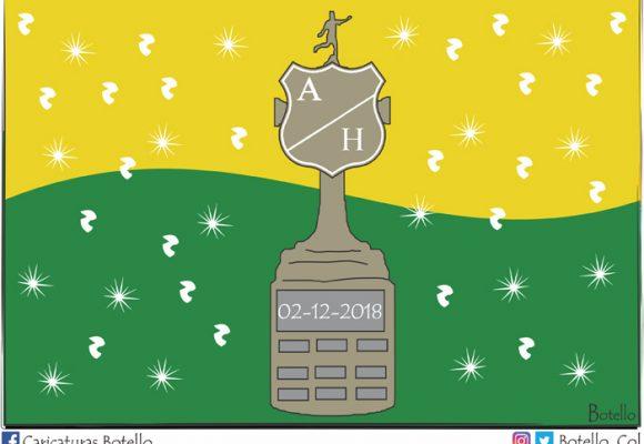 Caricatura: ¡Atlético Huila Femenino, campeón!