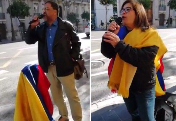 En Europa, solidarios con las lucha sindical, estudiantil y social en Colombia