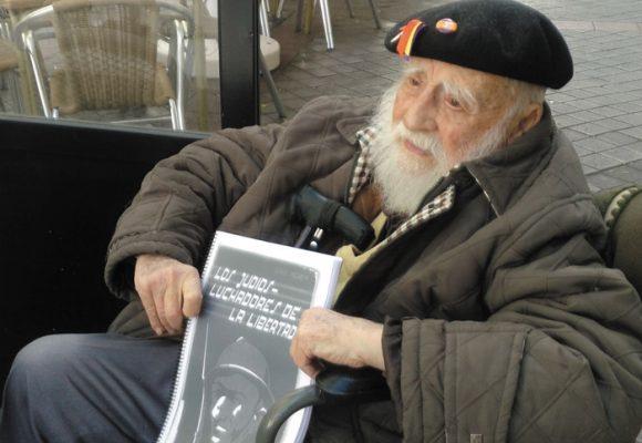 ¡Milagro rojo! El Brigadista Internacional Virgilio Fernández cumple 100 años