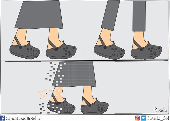 Caricatura: Se desintegra la terna ad hoc