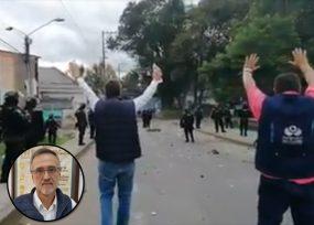 Rector de Unicauca mediador para evitar más atropellos del Esmad