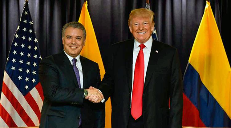 Trump y Duque: 'la cereza del pastel'