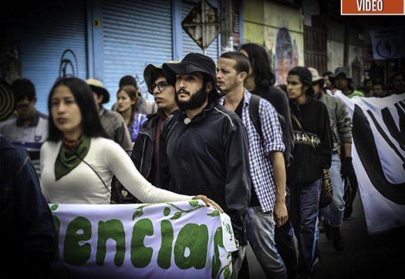Así fue la marcha de 500 km del estudiante que se enfrentó a Uribe en el Congreso