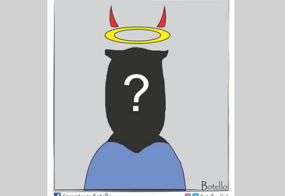 Caricatura: A la espera del ad hoc