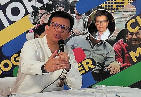 Hollman Morris invita a Claudia López a una consulta interpartidista para la alcaldía de Bogotá