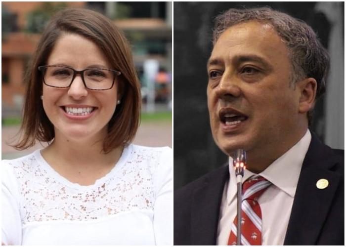 Curiosas coincidencias: Juanita Goebertus y Carlos Eduardo Acosta sobre las listas cerradas