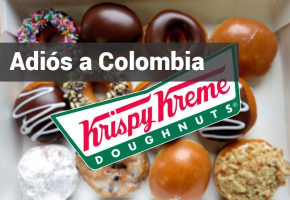 Krispy Kreme se va de Colombia