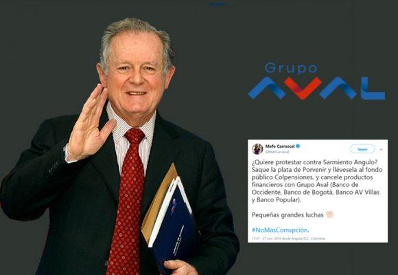 Los colombianos son desagradecidos con el Grupo Aval