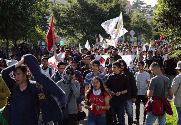 Marchas estudiantiles, entre el estigma y la realidad