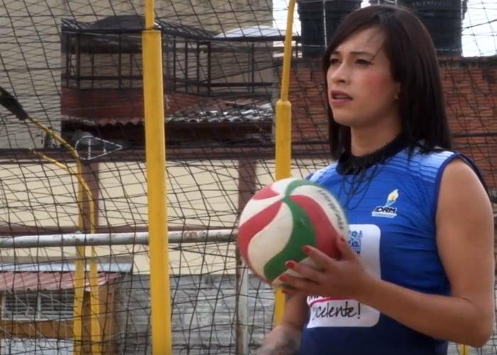María Paula Bojacá, la trans que es un crack del voleibol