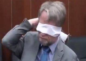 Antanas Mockus y su No a votar la Ley Tics con los ojos vendados