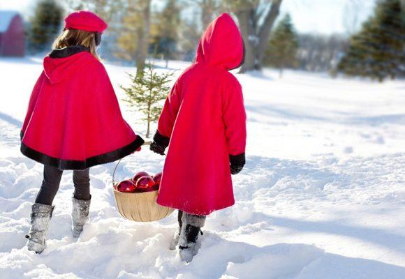 Cuando la niñez es como un cuento de Navidad