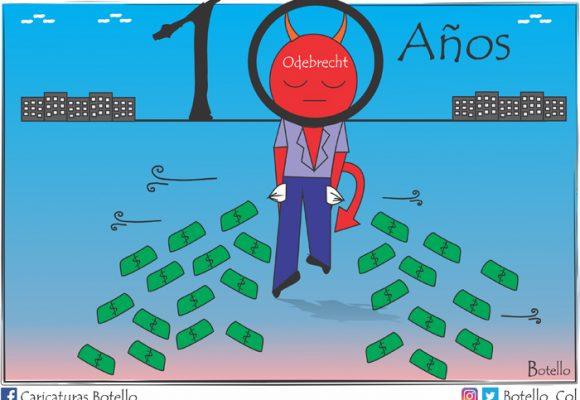 Caricatura: Golpe a la corrupción