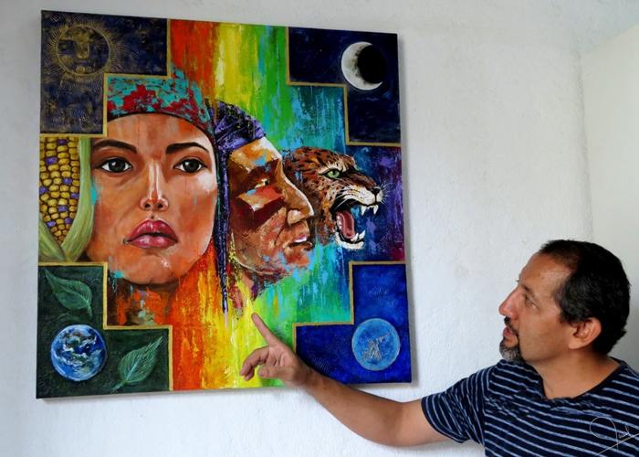 """""""Es un gozo trabajar en el rescate de las raíces culturales"""":  Óscar Esteban Martínez"""