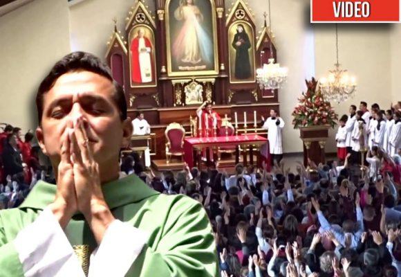 Las novenas bailables del Padre Chucho en el barrio Castilla