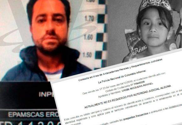 Rafael Uribe Noguera sigue sin antecedentes en la Policía