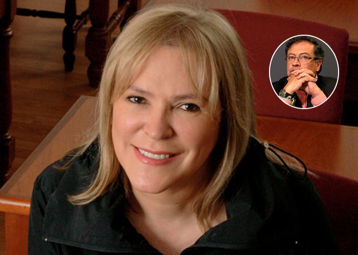 María Isabel Rueda y su odio contra Gustavo Petro