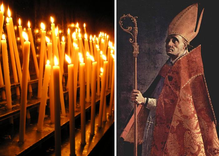 San Ambrosio, el hombre al que se celebra en el día de velitas