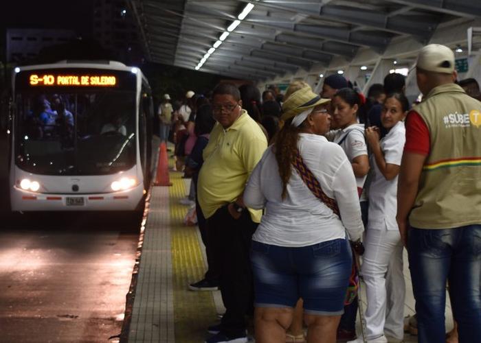 El 2019 recibe a los barranquilleros con un aumento en el precio del transporte público