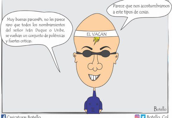 Caricatura: Las polémicas de Duque ya ni nos sorprenden