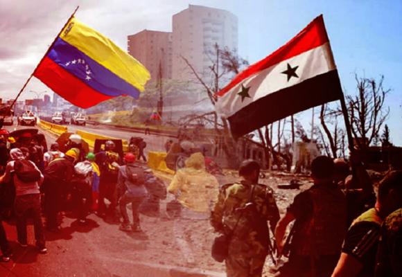 De Venezuela a una Siria