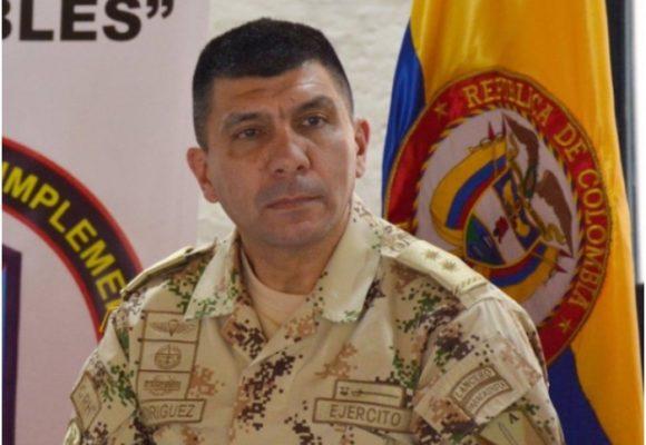 General Edgar A. Rodríguez, señalado en falsos positivos, encargado de frenar los asesinatos en el Bajo Cauca