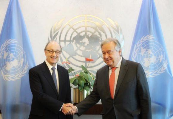 Guillermo Fernández de Soto empieza a moverse en la ONU