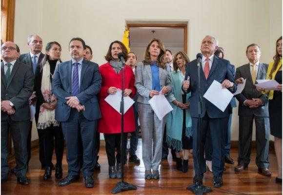 La vice Ramírez busca apuntalar políticamente la mano dura del gobierno