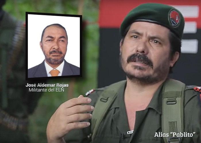 Pablito, el jefe del ELN al que le reportaba José Aldemar Rojas