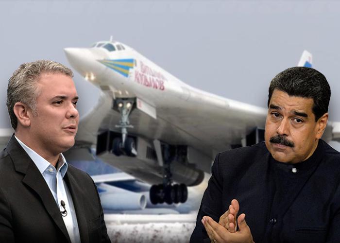 Los bombarderos rusos con que Maduro podría acabar con Colombia. Video