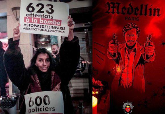 Colombianos en París a punto de hacer cerrar el bar de Pablo Escobar