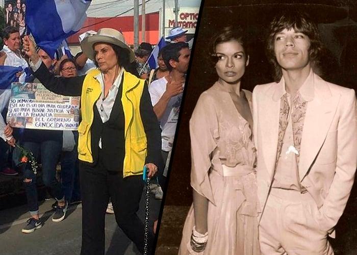 El terremoto que cambió a la nicaragüense Bianca Jagger