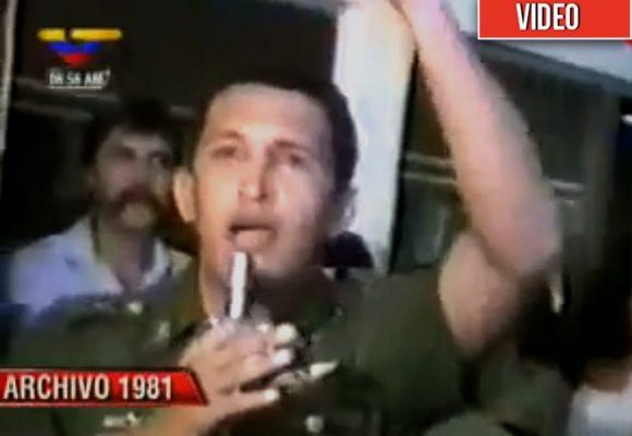 El carisma con el que Chávez arrasó desde que era teniente