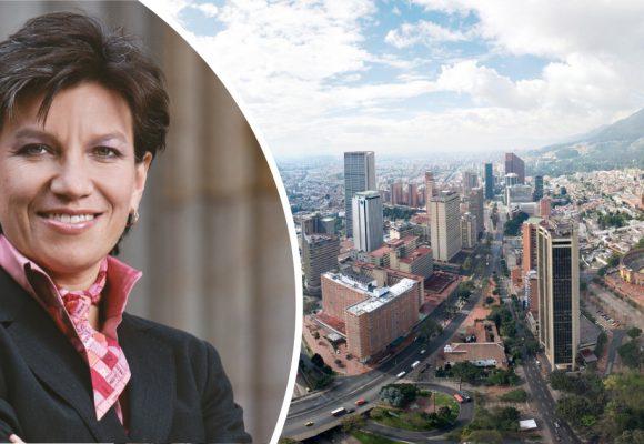 Bogotá es un regalo, con moño y todo, para Claudia López