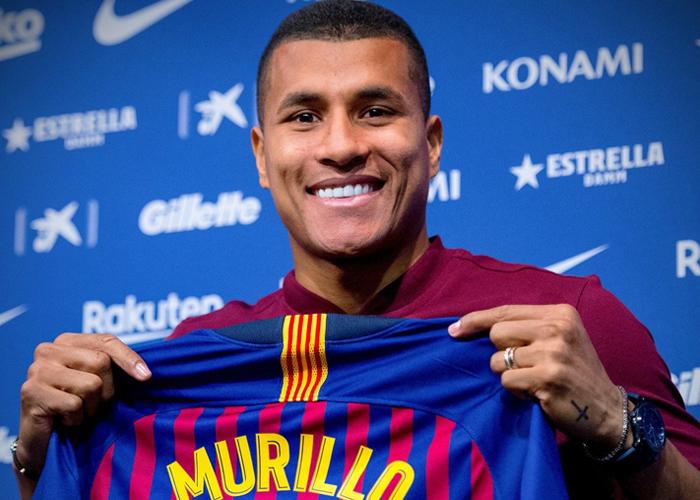 El desastroso debut de Murillo: ¡hasta cuando el Barcelona insistirá con colombianos!
