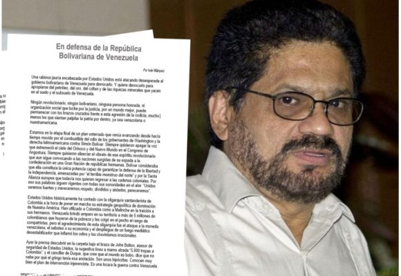 Nueva carta de Iván Márquez desde las montañas del Caquetá