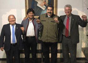 Los cinco presidentes que acompañan a Maduro