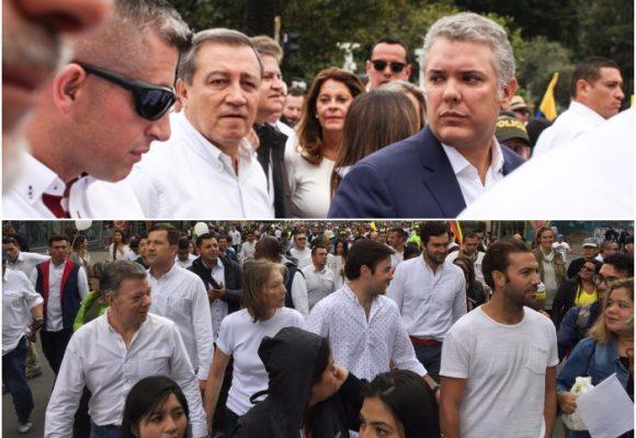 Juntos pero no revueltos en la protesta contra los violentos [FOTOS]
