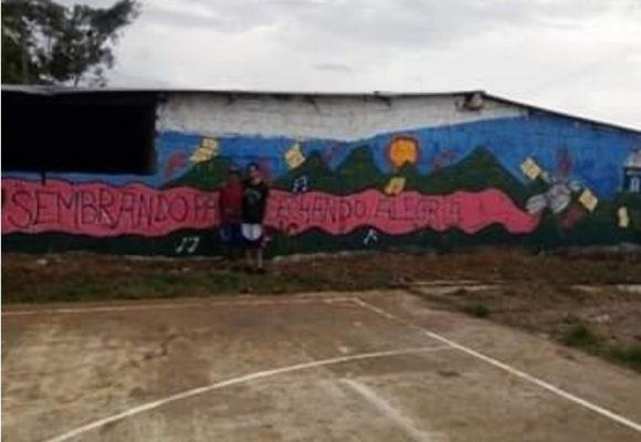 El Festival de Agua Bonita en Caquetá donde los grafitis rompen estereotipos