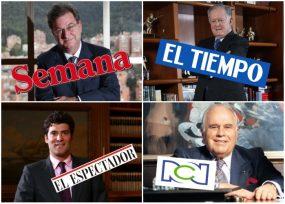 Los cuatro más ricos de Colombia, con medio propio